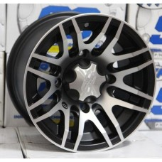 Диски для квадроцикла  SS ALLOY SS316 12x7  4/110 2+5 black w/machined