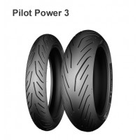 Мотошина 180/55 R17 73W TL F Michelin Pilot Power 3