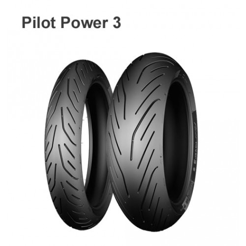 Мотошина 190/55 R17 75W TL F Michelin Pilot Power 3