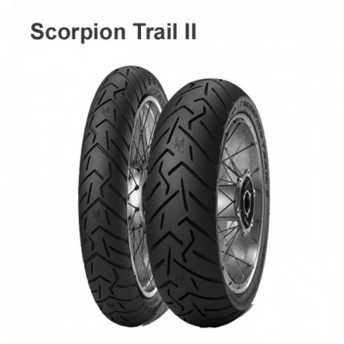 Моторезина  100/90 -19 57V TL F Pirelli Scorpion Trail 2
