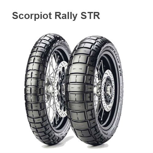 Моторезина   170/60 R 17 M/C 72V M+S TL    Pirelli scorpion rally