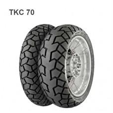 Моторезина  180/55ZR17 M/C (73W)TL   Continental TKC 70 F